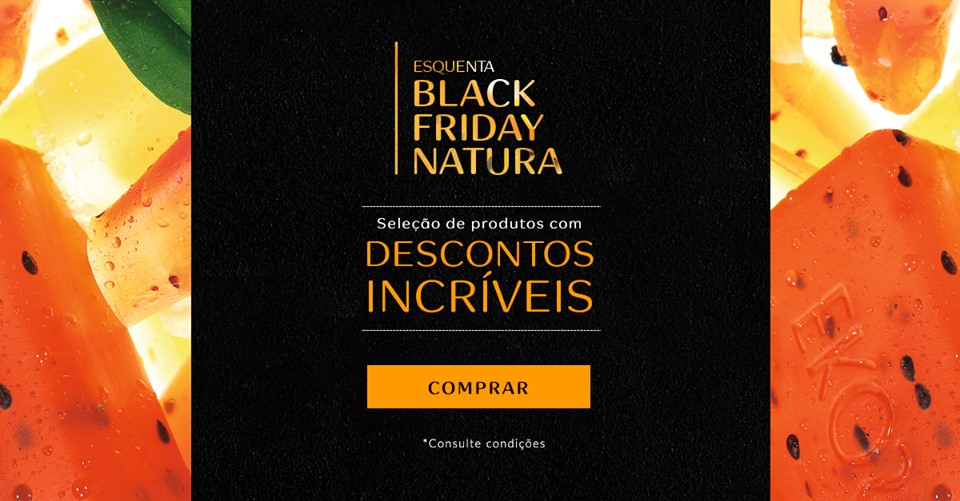 Natura Black Friday
